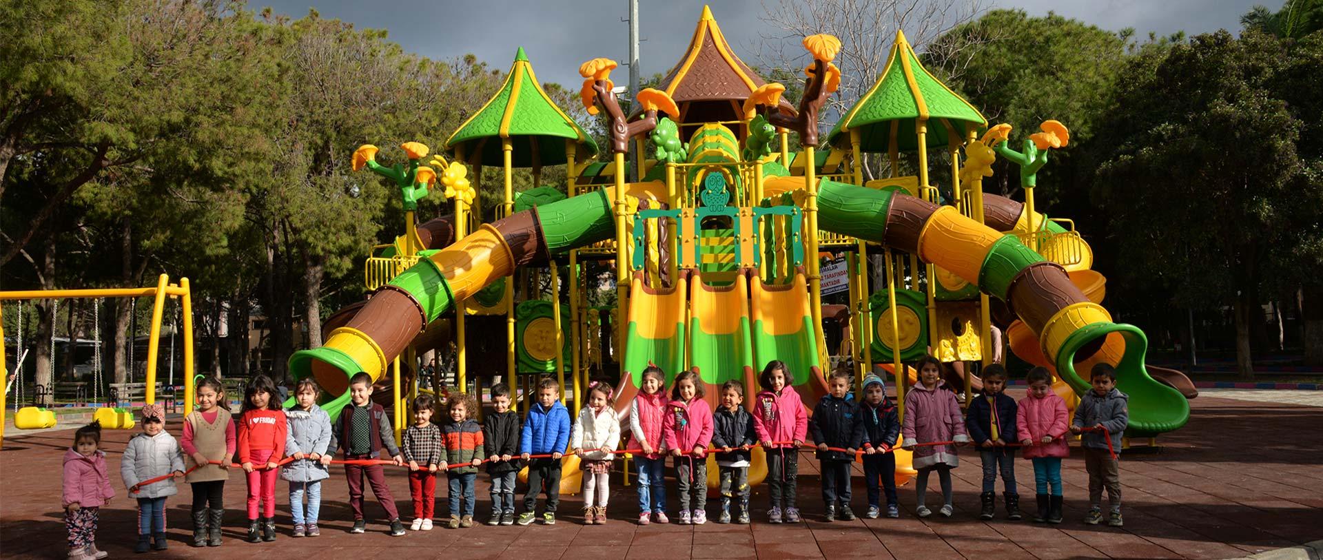 Merida Park Ekipmanları