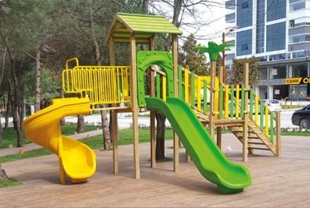 Деревянные Игровые Площадки